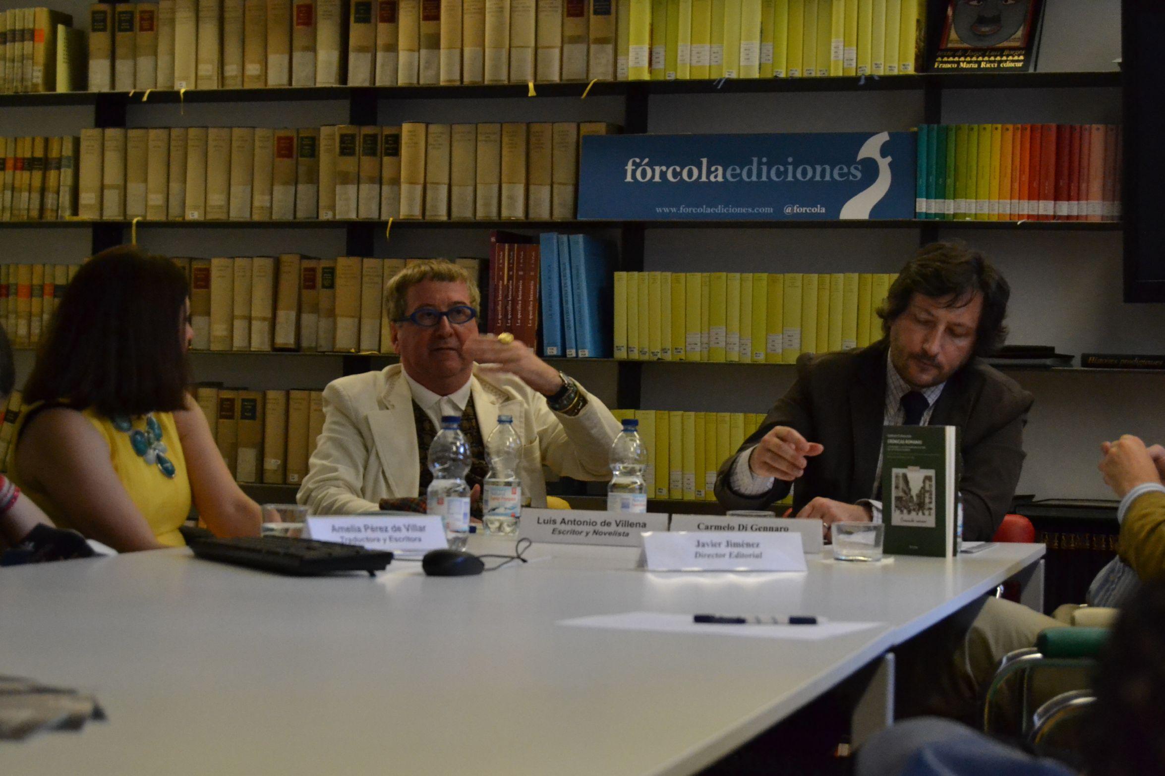 F rcola ediciones encuentro sobre d annunzio en el for Instituto italiano de cultura madrid