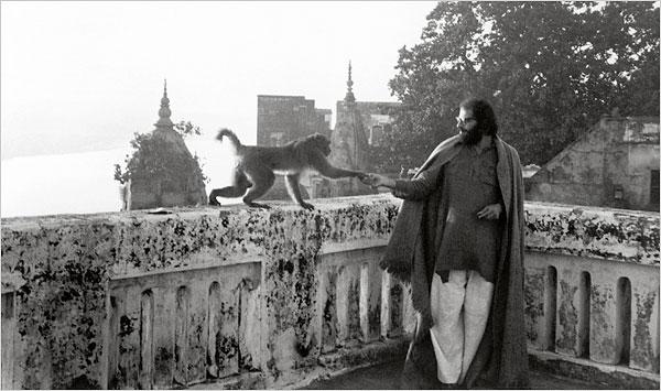 Allen Ginsberg en la India