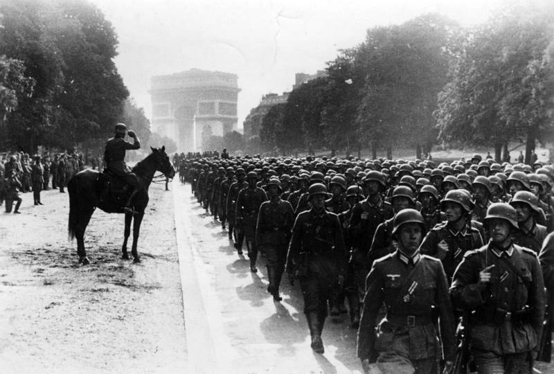 Paris, Avenue Foch, Siegesparade