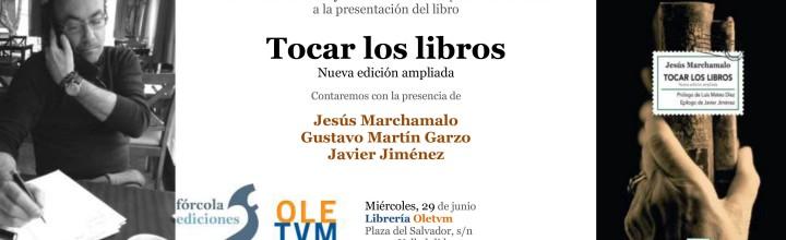 Presentación de Jesús Marchamalo en Valladolid