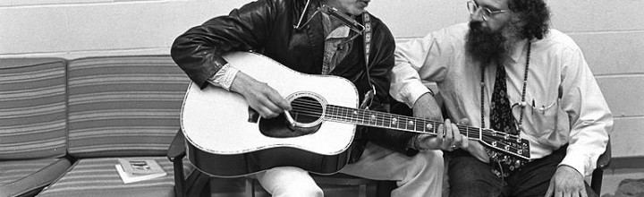 Bob Dylan, amigo de Allen Ginsberg y la Beat Generation, Premio Nobel de Literatura 2016