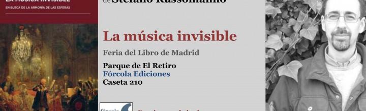 Russomanno en la Feria del Libro de Madrid