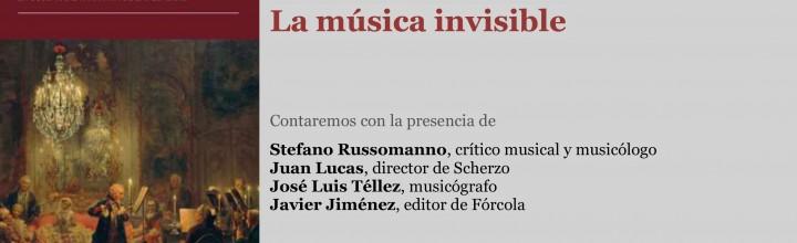 Presentación de La música invisible de Stefano Russomanno
