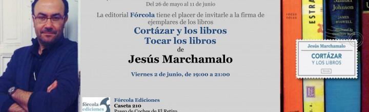 Jesús Marchamalo firma Cortázar y los libros en la #FLM17
