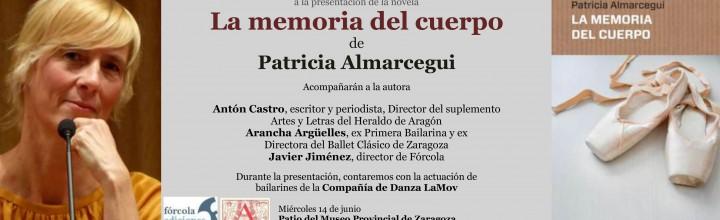 Presentación de la nueva novela de Patricia Almarcegui en Zaragoza