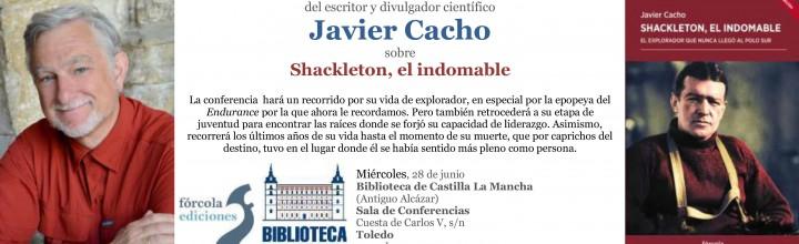 Conferencia de Javier Cacho en Toledo