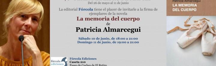 Patricia Almarcegui firma en la FLM17