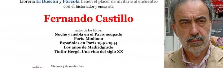 Encuentro con Fernando Castillo en librería El Buscón
