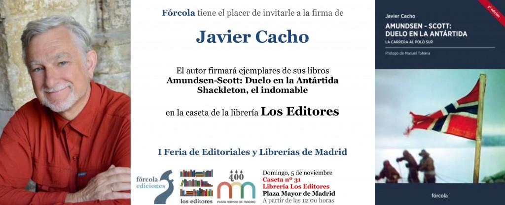 Firma_ejemplares_Javier-Cacho_FeriaPlazaMayor