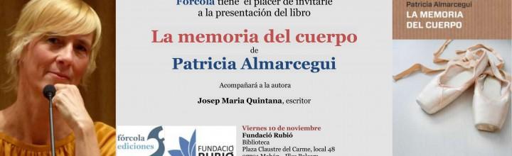 Patricia Almarcegui presenta su novela en Mahón