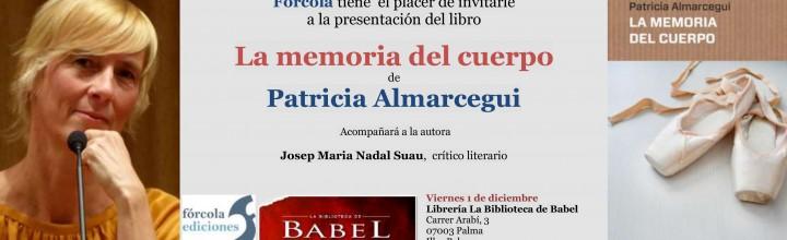 Presentación de Patricia Almarcegui en Mallorca