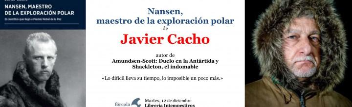 Presentación de Javier Cacho en Segovia