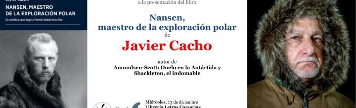 Presentación de Javier Cacho en Salamanca