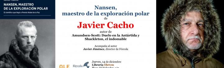 Presentación de Javier Cacho en Valladolid