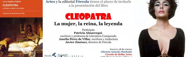 Presentación de Cleopatra en Madrid