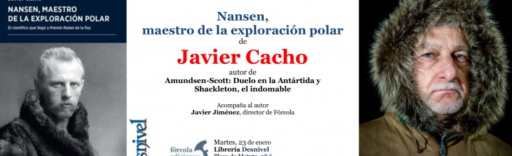 Presentación de Javier Cacho en librería Desnivel (Madrid)
