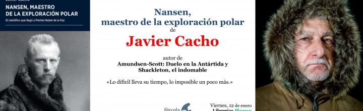 Presentación de Javier Cacho en Granada