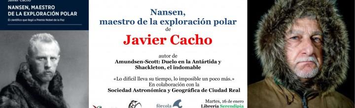 Presentación de Javier Cacho en Ciudad Real