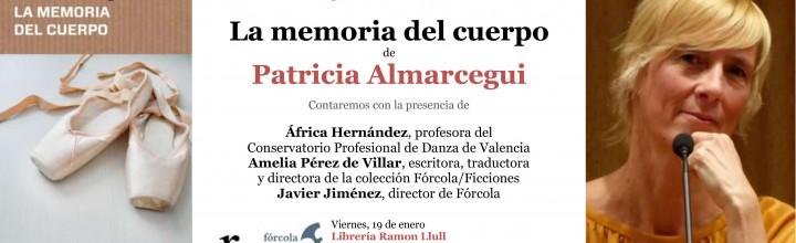 Presentación de Patricia Almarcegui en Valencia