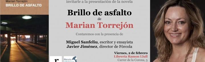 Presentación de Marian Torrejón en Valencia