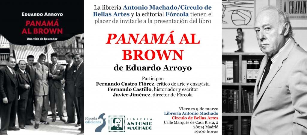 Invitacion_Arroyo_PanamaAlBrown