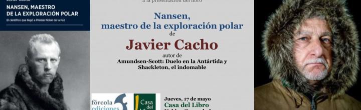 Javier Cacho presenta Nansen en Casa del Libro de Bilbao