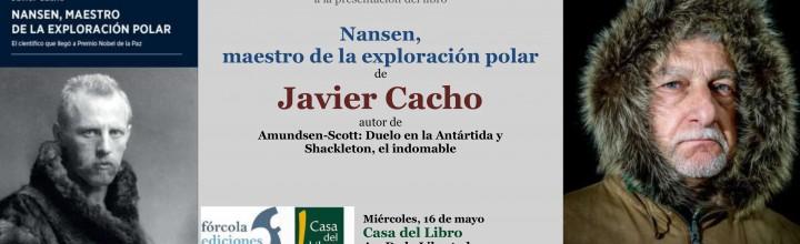 Javier Cacho presenta Nansen en Casa del Libro de San Sebastián