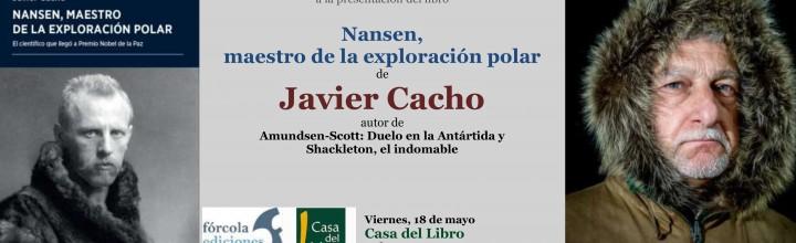 Javier Cacho presenta Nansen en Casa del Libro de Vitoria