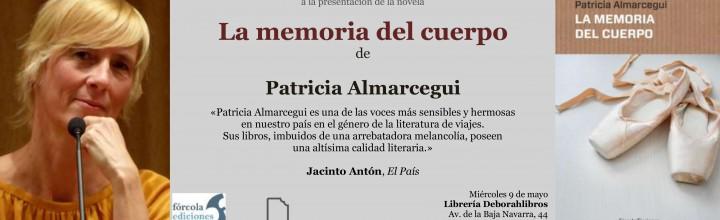 Patricia Almarcegui presenta La memoria del cuerpo en Pamplona