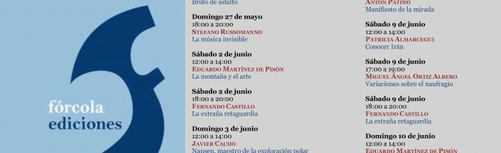Calendario firmas en la Feria del Libro de Madrid 25/06 a 10/07