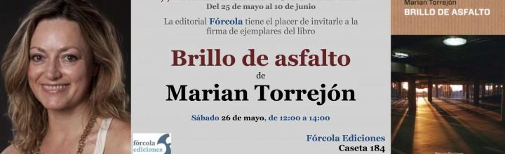 Firmas en la #FLM18: Marian Torrejón