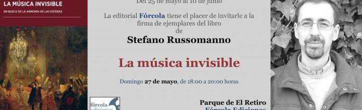 Firmas en la #FLM18: Stefano Russomanno