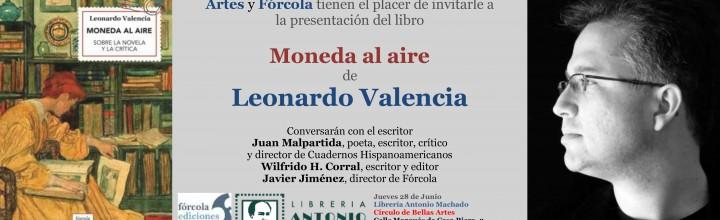 Presentación de Leonardo Valencia en Madrid