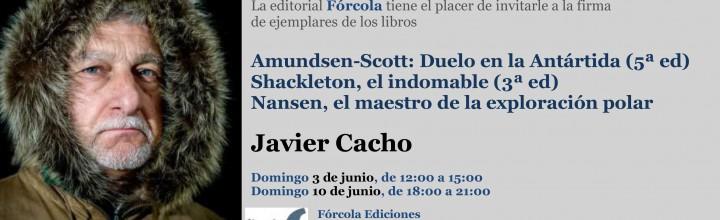 Firmas en la #FLM18: Javier Cacho