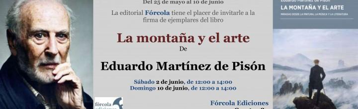 Firmas en la #FLM: Eduardo Martínez de Pisón