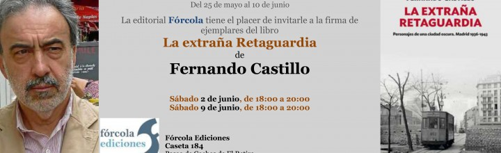Firmas en la #FLM: Fernando Castillo