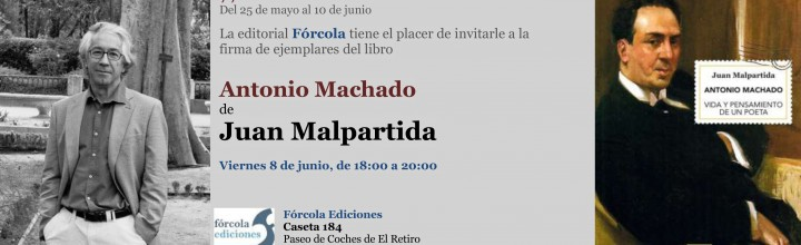 Firmas en la #FLM18: Juan Malpartida