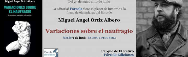 Firmas en la #FLM18: Miguel Ángel Ortiz Albero