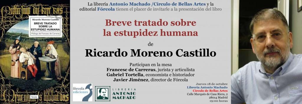 Invitacion_Ricardo_Moreno_Forcola_Estupidez