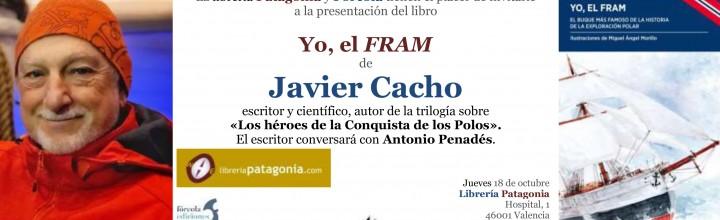 Presentación del nuevo libro de Javier Cacho Yo, el Fram en Valencia