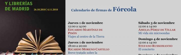 Fórcola participa en la 2ª Feria de Editoriales y Librerías de Madrid