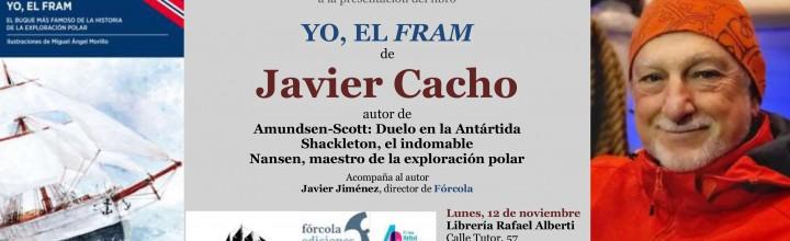 Javier Cacho presenta el Fram en la Rafael Alberti