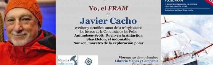 Javier Cacho presenta el Fram en Málaga