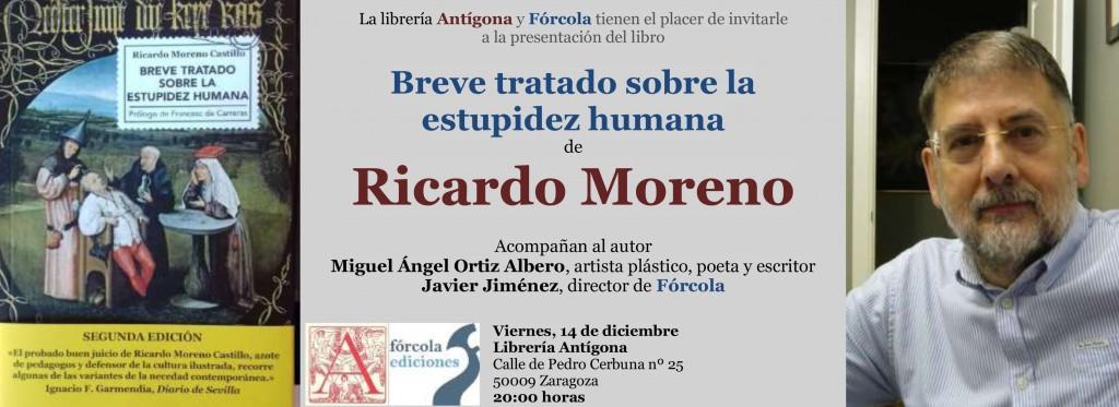 Invitacion_Ricardo_Moreno_Estupidez_Zaragoza