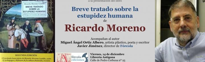 Presentación en Zaragoza del Breve tratado sobre la estupidez humana