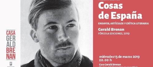 Presentación en la Casa Gerald Brenan de Churriana de Cosas de España