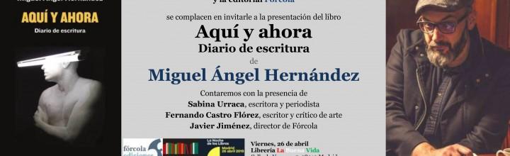 Presentación de MAHN en La Noche de los Libros-Madrid