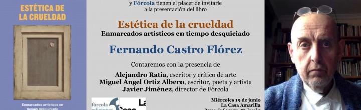 Presentación de Fernando Castro Flórez en Zaragoza