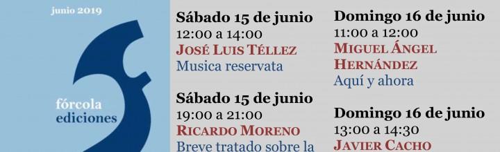 Calendario de firmas en la Feria del Libro de Madrid (caseta 308)
