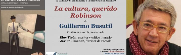 Presentación de Guillermo Busutil en Madrid